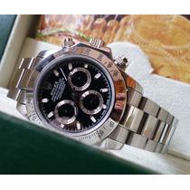 Relógio Eta Valjoux 7750 Modelo Daytona Dial Preto