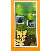 E-2012 - Edital Selo 8 - 2012 - Animais Da Fauna Brasileira