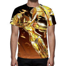 Camisa, Camiseta Cavaleiros Do Zodíaco Aioros De Sargitário