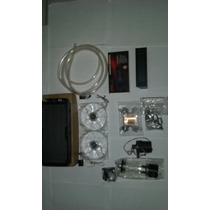 Water Cooler Completo Indicador De Temperatura E Control Fan
