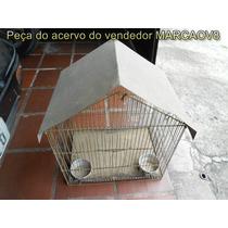Gaiola Usada 60x50x36 Para Calopsita Etc Retirar Em Campinas