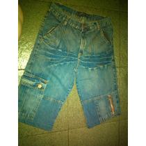 Bermuda Jeans Infantil Tam 14 Baratinha!!