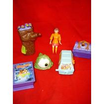 Kit 6 Brinquedos Scooby Doo Mc Donalds