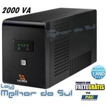 Nobreak Lacerda Com Estabilizador 2000va 220v Frete Gratis