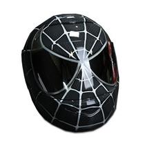 Capacete Personalizado Grafitado Homem Aranha