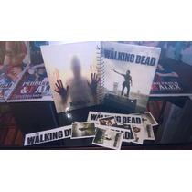 Caderno De Anotações The Walking Dead Com Adesivos
