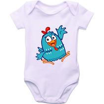 Body Bebê Personagens Galinha Pintadinha Personalizado