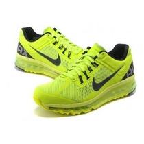 Tenís Nike Air Max 2013 Limão 100% Imperdivel