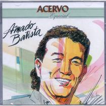 Cd Amado Batista - Acervo Especial - Novo***
