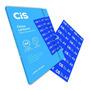 Papel Carbono Azul Manuscrito Embalagem Com 100 Folhas Cis
