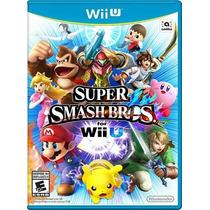 Super Smash Bros For Wii U - Nintendo Lacrado - E-sedex 6,07