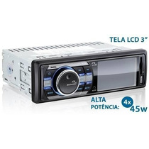 Rádio Automotivo Multilaser Rock P3180 Mp5 Mp4 Tela 3 Usb Sd