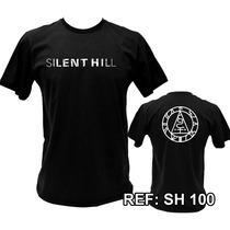 Camiseta / Camisa Silent Hill - Sh1, Sh2, Sh3, Sh4, Downpour