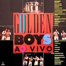 Cd Golden Boys - Ao Vivo (usado/otimo)