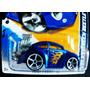 Hot Wheels 2012 Vw Beetle Tunado Não $uper Azul Com Chamas