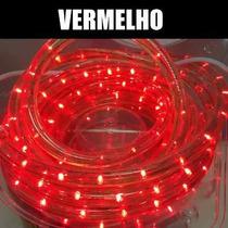 Mangueira P/ Natal De Led Brilho Luminosa 8 Funções 10mts A6