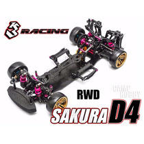 Kit Sakura D4 3racing Drift Rwd Advanced Chassis Rc