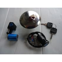 Conjunto Travas Chaves Cg 125 Titan 95/00 Kit Novo Completo