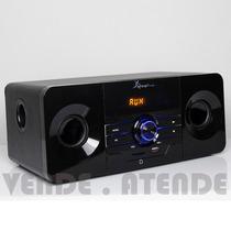 Caixa De Som Subwoofer 2.1 Amplificada Bluetooth Pc Tv Usb