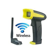 Leitor De Código Barra Sem Fio Wireless 300mt + Coletor Dado