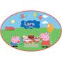 Placa Painel Tema Peppa Pig Festa Enfeite Personalizada