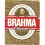 Rótulo De Cerveja Brahma - Antigo - 600 Ml - A2v4