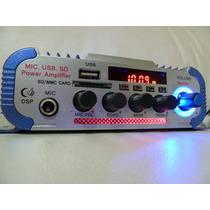 Mini Amplificador Stereo Com Fm - Kentiger