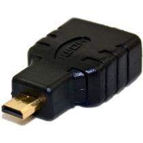 Adaptador P/ Cabo Hdmi Femea X Micro Hdmi Macho Conversor