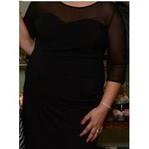 Vestido Pluz Size - Jes Couture - Preto - 50/52
