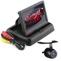 Camera De Ré Dvd Completo + Tela Lcd 4.3 Pol Colorida Kit