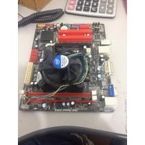 Cpu Biostar Com Processador. 1.800ghz E Memória 2gb