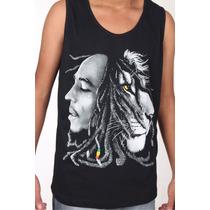 Camiseta Regata - Bob Marley - Reggae - Frete Gratis