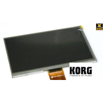 Lcd Display Original Teclado Korg Krome C/ Touch Screen Novo