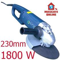 Esmerilhadeira Angular Profissional 1800w, 230mm. Lixadeira