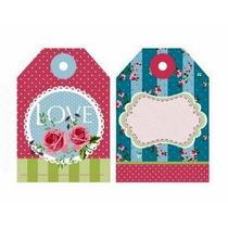 Etiqueta Para Presente - Tag Decorativa - Material Scrapbook