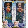 2 Bonecas Do Filme Frozen Fever Musical Elsa E Anna