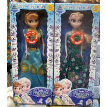 2 Bonecas Do Filme Frozen Fever Musical Elsa E Anna