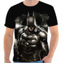 Camisa, Camiseta Batman - Arkham Knight, Super Herói