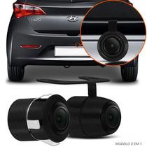 Câmera De Ré Carro Estacionamento Borboleta Embutir Co57