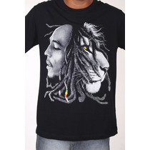 Camiseta - Bob Marley - Reggae - Frete Gratis