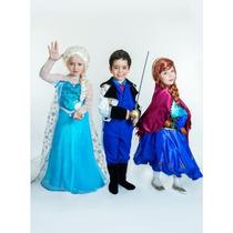 Fantasia Elsa Do Filme Frozen - Princesas Disney