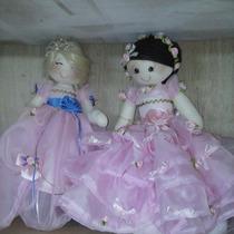 Kit Bonecas Princesas