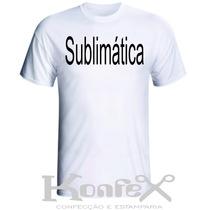 Camisetas 100% Poliester Lisa Para Sublimação