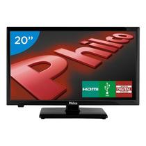 Tv Led 20 Philco Ph20u21d Hd Conversor Digital 2 Hdmi 1 Usb