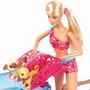 Barbie Family - Corrida De Cachorrinhos - Piscina