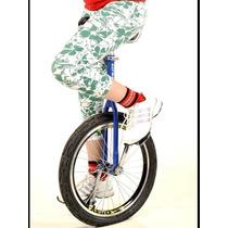 Monociclo Bike 1 Roda - Bicicleta De Circo Aro 20 Reforçado