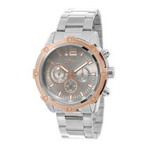 Relógio Masculino Condor Civic Covd54ad/3c - Prata / Cinz...