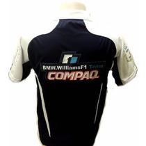 Camisa Bmw Williams F1 Team ( Compaq)polo Confira Oferta