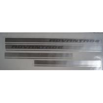 Faixa Lateral S10 E Blazer Advantage Letras Frisadas - Jogo