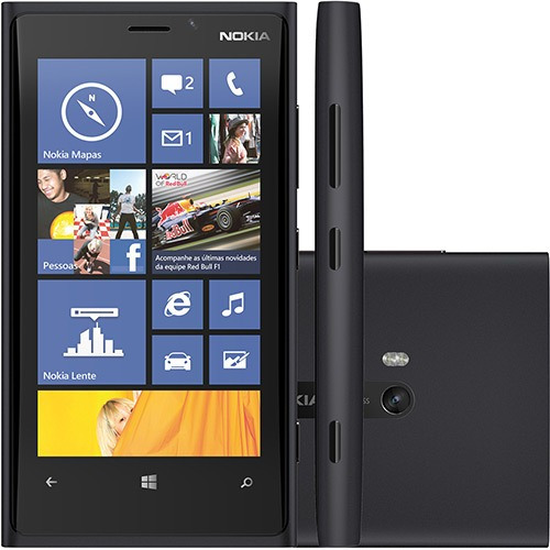 Nokia Lumia 920 Preto Dualcore Puremotion Windows Phone 8.1
